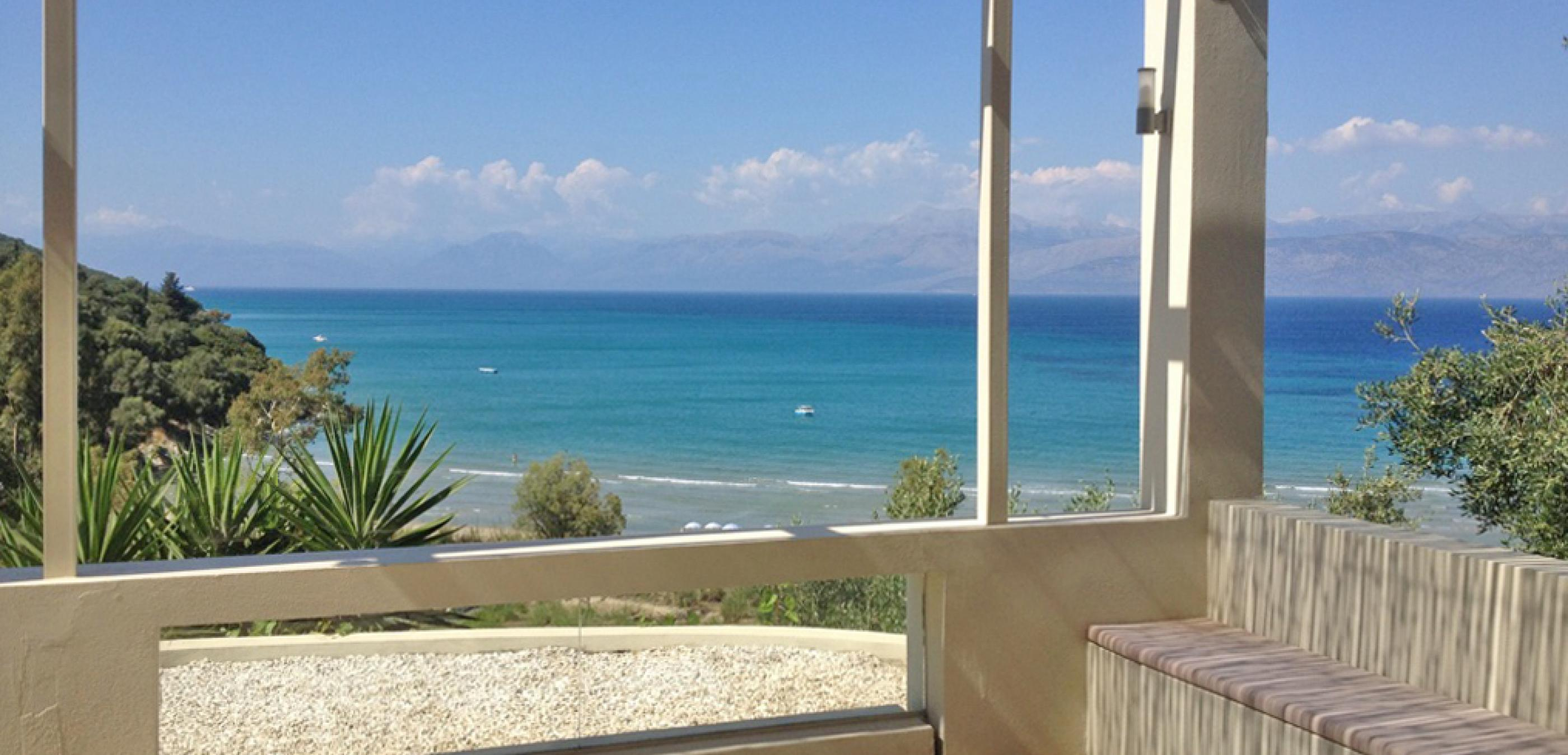 Sea view from pergola
